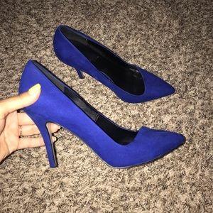 Size 8 Aldo Blue Heels